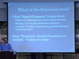 How to Lose Weight: What is the Subconscious?