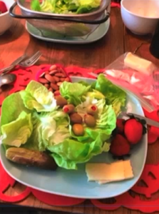 Low Carb Weight Loss Lettuce and Olives
