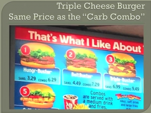Low Carb Weight Loss Triple Cheese Burger