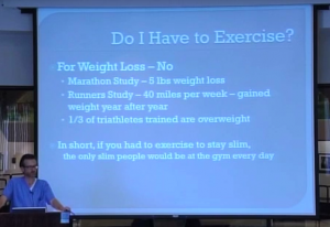 Weight Loss and the Exercise Myth